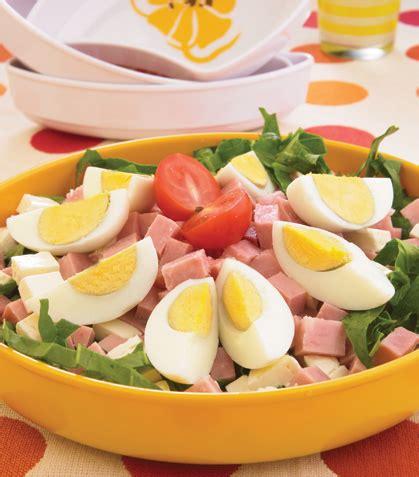 recetas de cocina de huevos ensalada de huevo cocido recetas de comida