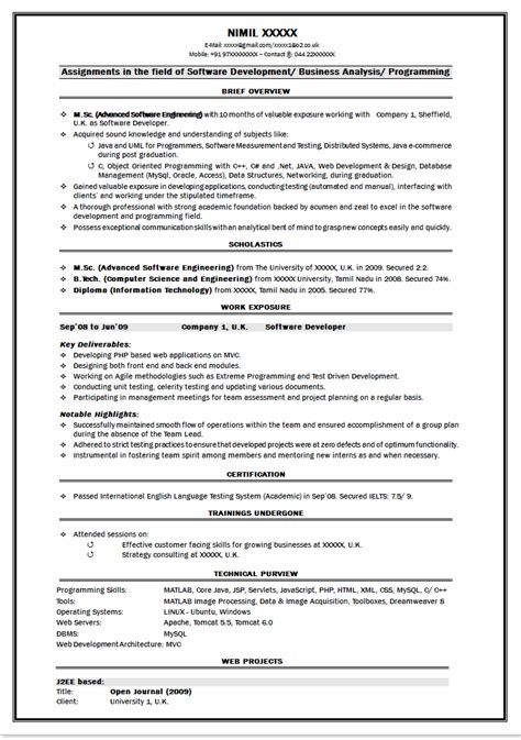 21 basic resumes examples for students internships com