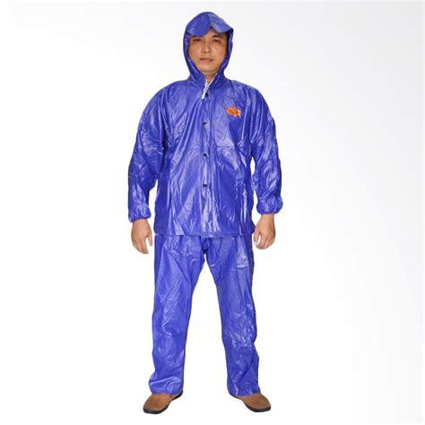 Optimus Jas Hujan Setelan Biru jual yifang tian karet setelan jas hujan biru muda