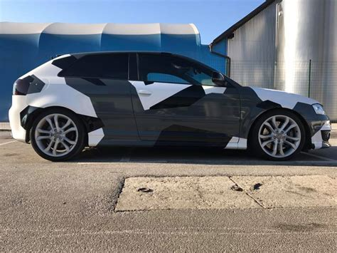 Audi A3 Optik Tuning by Audi A3 S3 Sportback Mit Camouflage Optik By Bb