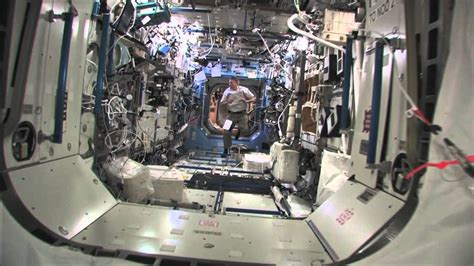 International Space Station Interior by Tour Inside The Space Station