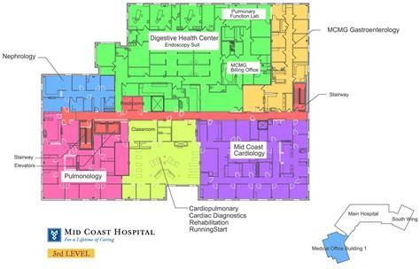 hospital floor plan mid coast hospital find us floor plans level 2