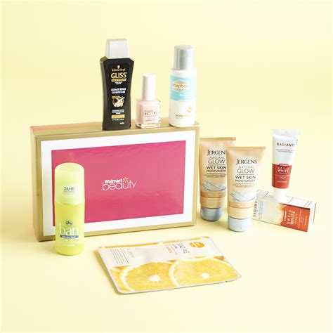 walmart beauty box subscription review spring 2015 my walmart beauty box review spring 2017 classic box my