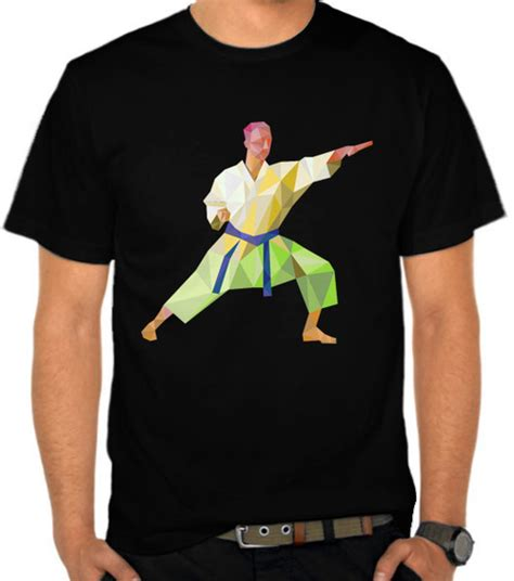 Kaos Distro Beladiri Kyokushin The Legend jual kaos karate polygon bela diri satubaju