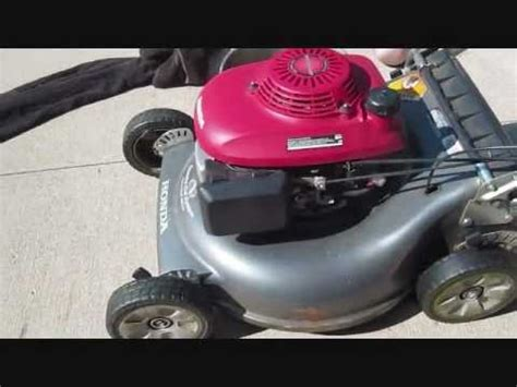 changing on honda lawn mower how to change the troy bilt lawn mower