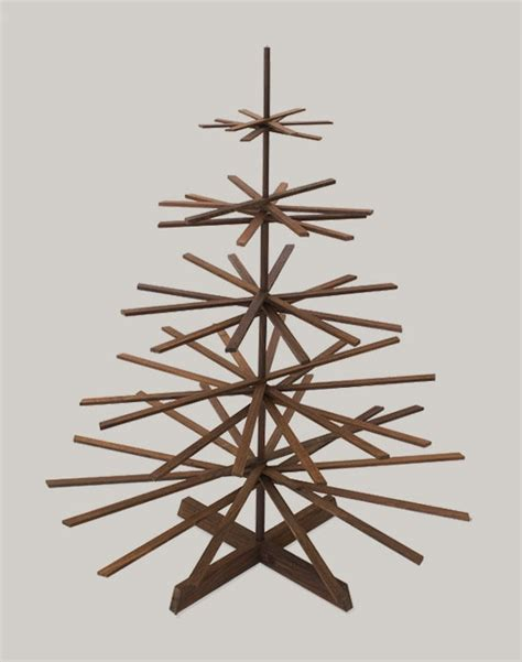 Pohon Natal Jd16899rb Ukuran 3ft if it s hip it s here archives modern wood tree by architect makes a smart and