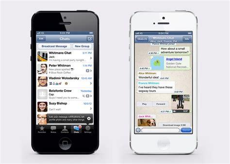tutorial whatsapp iphone 5 whatsapp se actualiza ofreciendo compatibilidad con el