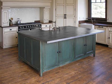 metal island kitchen handcrafted metal quality copper brass bronze