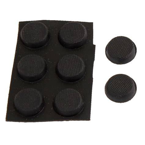foot pads protective furniture adhesive 11mmx4mm nonslip rubber foot pads ws ebay