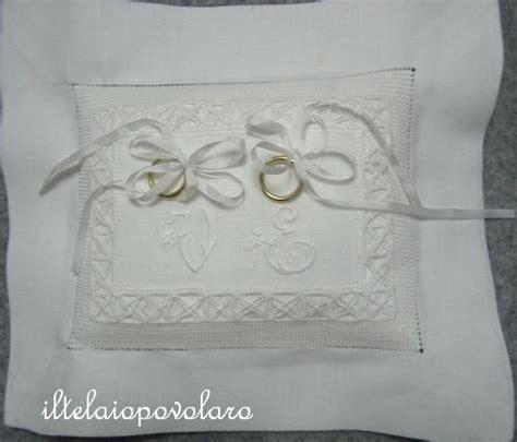 cuscini per anelli matrimonio fedi cuscinetti porta fedi ring pillow