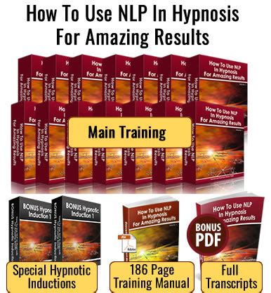 use nlp and hypnosis to discover how to really use nlp in hypnosis for amazing results