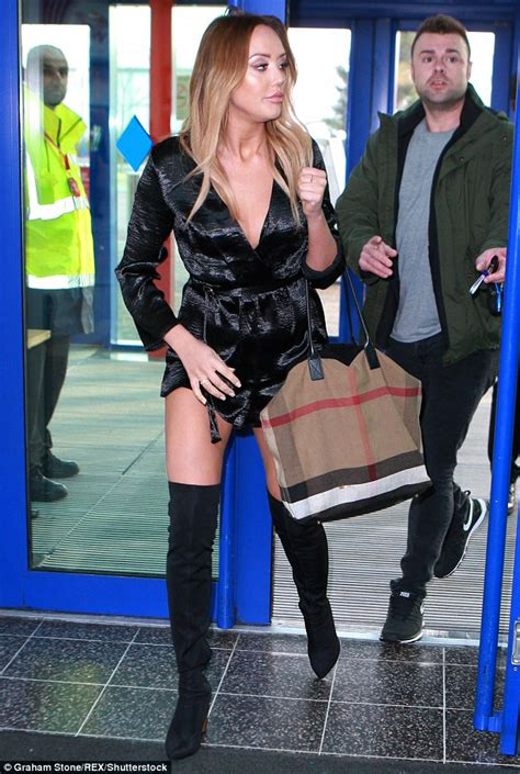 Daily Mail Boots Detox by Crosby Flaunts Trim Figure In Playsuit At The