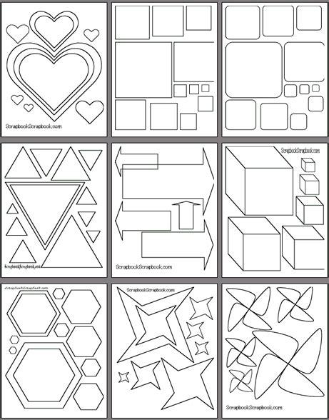 free scrapbook template free printable scrapbooking templates scrapbooking
