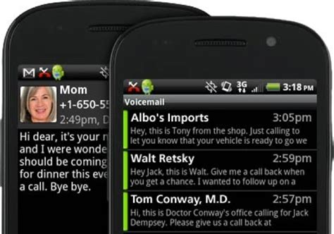 free voicemail to text apps for android voicemail to text android free app