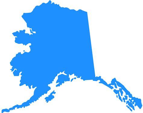 alaska state map alaska map silhouette free vector silhouettes