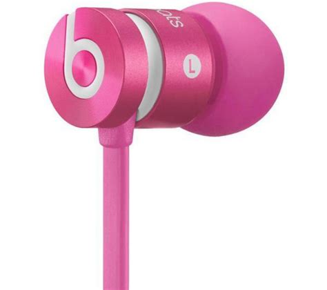 Headphone Beats Pink buy beats by dr dre urbeats headphones monochromatic pink free delivery currys