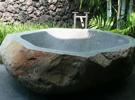 rock bathtub river rock stone soaking tubs jeanne marie imports