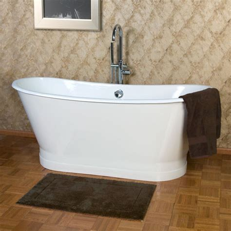 Bathtub Skirt by 68 Quot Kateryn Cast Iron Bateau Tub With Plain Skirt