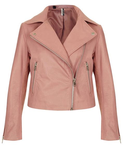 pink motorcycle jacket 10 spring pastel coloured leather biker jackets the