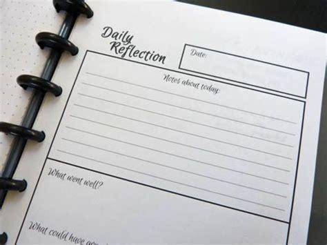 printable reflective journal free printable daily reflection worksheet make reflective