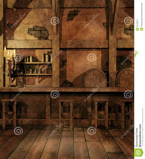 fantasie d interni tavern interior stock image image 23125611