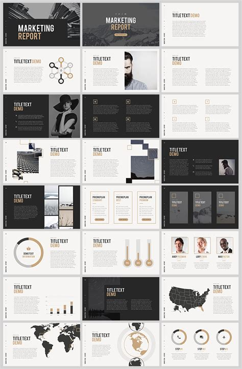 templates powerpoint pinterest 그레이 톤의 깔끔한 ppt 템플릿 free grey tone powerpoint template