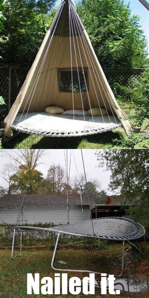 our first swing troline swing trolines and swings on pinterest
