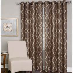 jcpenney outlet curtains elrene medalia grommet top curtain panel for the home