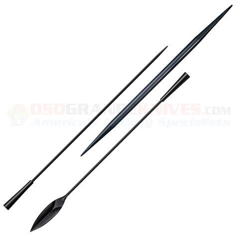 samburu spear throwing cold steel 95sb samburu spear now in black finish