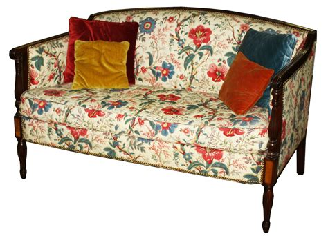 paine furniture paine furniture co sheraton settee in chintz upholstery