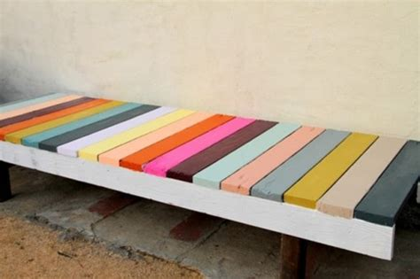 ikea sigurd bench colorful diy ikea sigurd bench hack shelterness