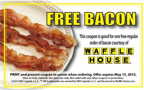 Waffle House Gift Card Amazon - free bacon at waffle house