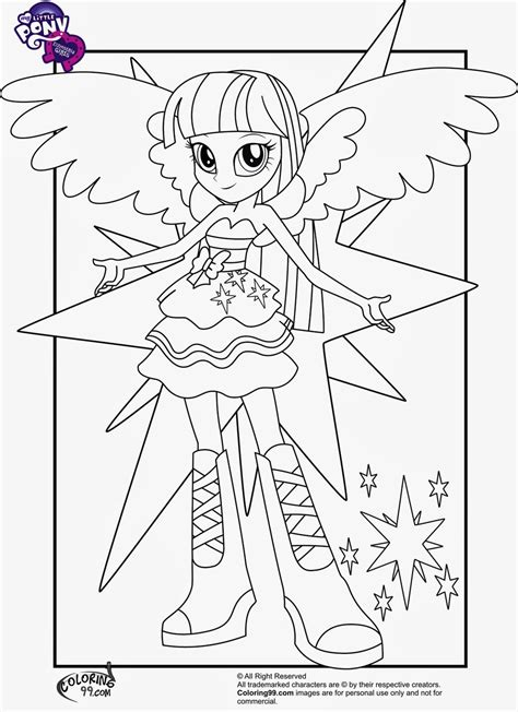 Free Coloring Pages Of Mlp Equestria Girls My Pony Equestria Coloring