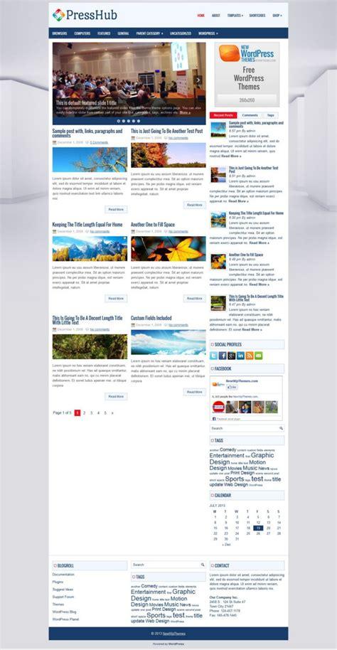 wordpress shopping cart theme v8 3 premiumpress free presshub free wordpress news magazine themes