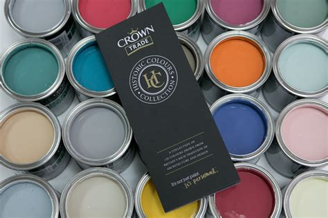 the crown trade historic colour collection authentic shades with modern appeal scottish