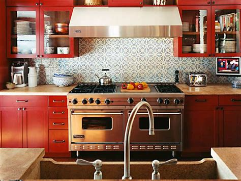 red backsplash for kitchen interiors archives home design decorating remodeling