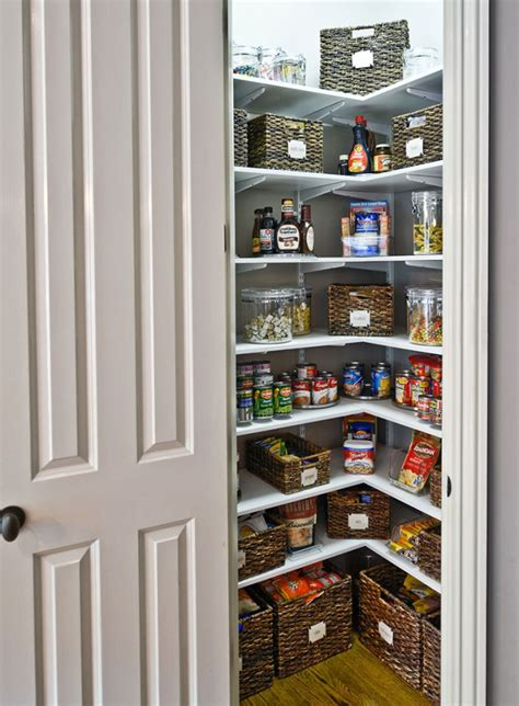 Food Pantry Designs Walk In Kitchen Food Pantry Studio Design Gallery
