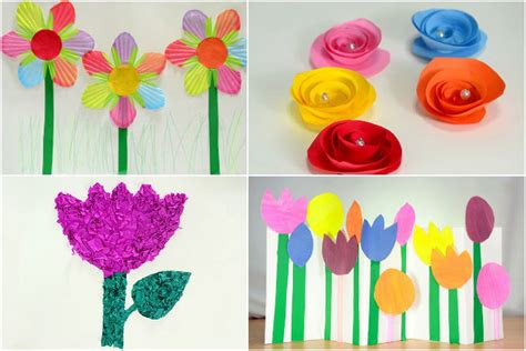 Paper Craft Flowers Make - how to make paper flowers for