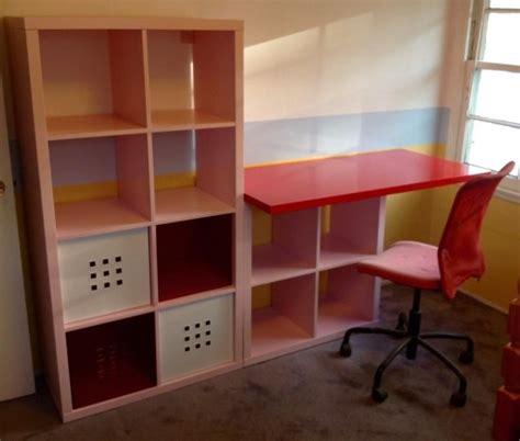 bureau enfant ik饌 un bureau pour enfant bidouilles ikea