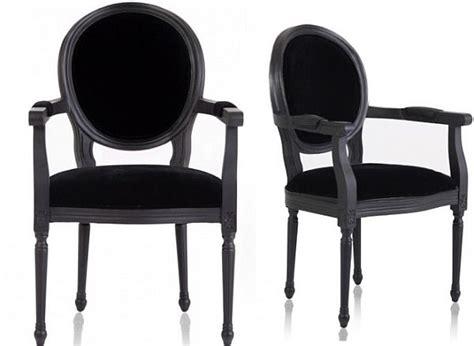 black armchair new louis black armchair
