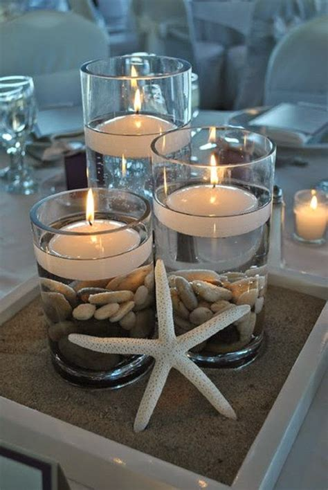 easy diy beach wedding centerpieces wedding ideas blog lisawola how to diy simple wedding