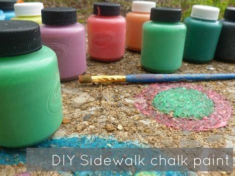 diy sidewalk chalk paint recipe the 25 best sidewalk chalk paint ideas on