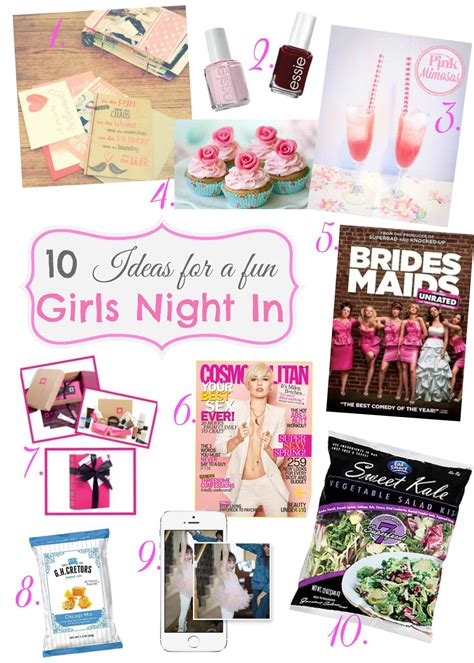 ideas for sweet sundays 10 ideas for a girls night in sweetphi