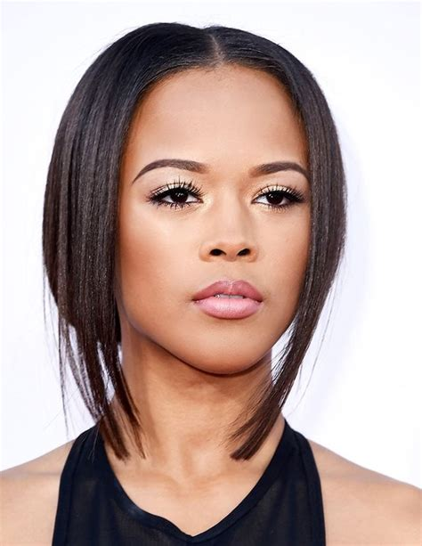 what kind of hair does tiana from empire have in exclusive empire s serayah mcneill reveals her hair