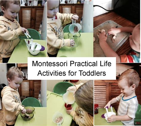 for toddlers montessori practical activities for toddlers