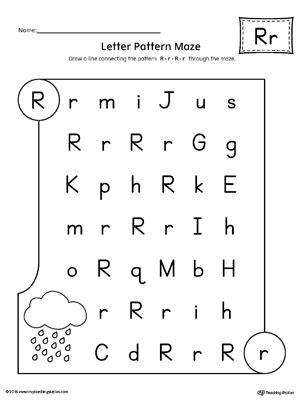 letter r worksheets kindergarten printable worksheets myteachingstation 1435