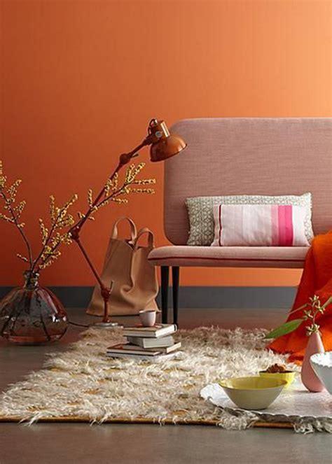 indogate chambre orange et marron