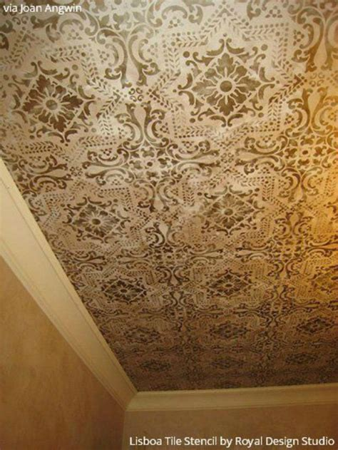 Ceiling Stencil by 192 Best Images About Stenciled And Painted Ceilings On
