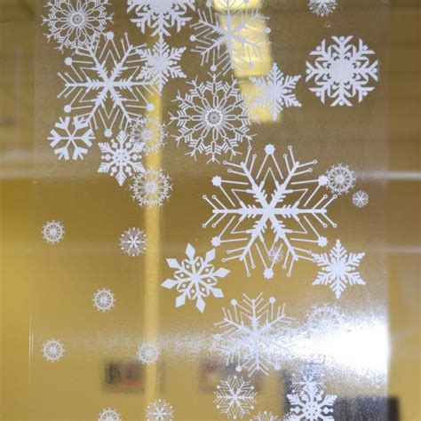 1000 ideas about christmas window stickers on pinterest