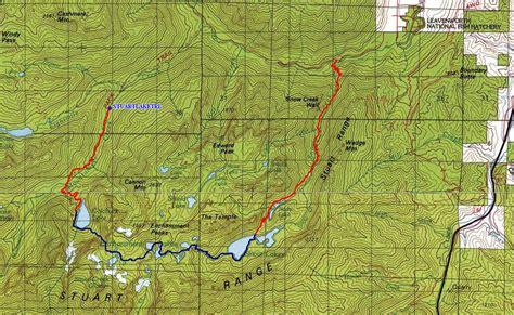 enchantments trail map enchantments
